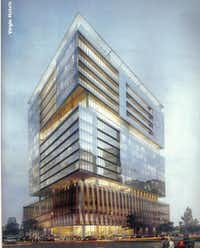 A new Virgin Hotel planned for Dallas' Design District will include 150 apartments on top.(Contributed - Dunhill Partners)