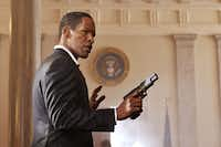 """Terrell's Jamie Foxx stars as President Sawyer  in Columbia Pictures' """"White House Down."""""""
