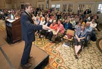 """At the DMN's first One Day University in May, Jeremi Suri of the University of Texas spoke on """"What Would the Founding Fathers Think of America Today?"""""""