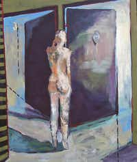 Door Number 3 by Cindy Holmes( Haley-Henman Gallery )