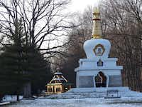 In Bloomington, Ind., the Tibetan Mongolian Buddhist Cultural Center was founded by the Dalai Lama's late brother.