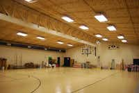 The first phase of the Boys and Girls club renovation included a new HVAC system, improved lighting and a new floor in the gymnasium.Staff photo by ANANDA BOARDMAN
