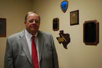 Bill Bell, who has served two full terms as Rockwall County judge, chose not to run again in 2006 to care for his ailing mother.Staff photo by ANDREW SCOGGIN