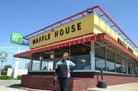 "In May, DOORS helped to connect Deanna Hall with a waitress job at a Waffle House on West Northwest Highway, where she's known as ""Queen"" by the employees.(Staff photo by NANETTE LIGHT -  neighborsgo  )"