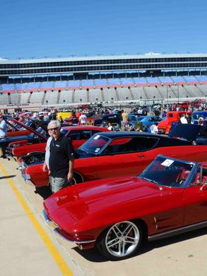 Car Show Rolls Cars Into Texas Motor Speedway This Weekend - Texas motor speedway car show