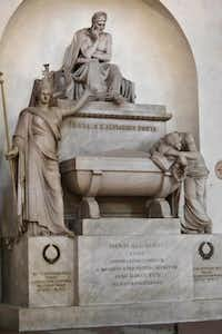A memorial to poet Dante Alighieri is at Florence's Santa Croce.Chris Sullivan  -  The Associated Press