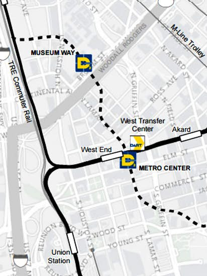 Don\'t draw conclusions about new DART line from feds\' map ...