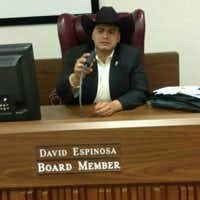 David Espinosa, 28, is the youngest person ever elected to the Grand Prairie school board. (Facebook)