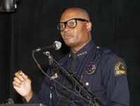 """Dallas Police Chief David Brown says he doesn't think the current controversy """"will end up being a defining moment."""" (2015 File Photo/David Woo)"""