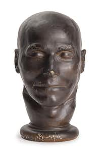 A death mask of Daniel Good, who was executed in 1842 for the murder of his wife.(? Museum of London - ? Museum of London)