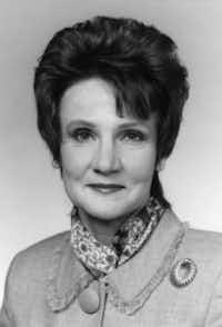 Betty Denton (Photo courtesy of the Legislative Reference Library).