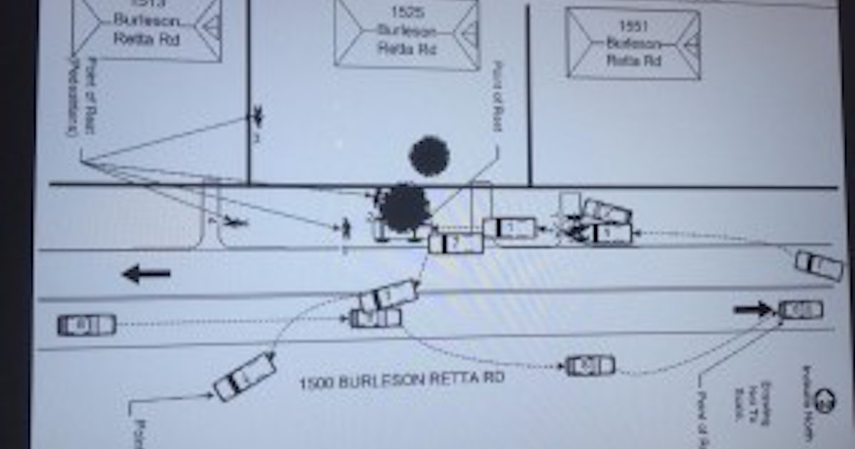 diagram for vehicle accident report sheriff speed and alcohol played roles in chaotic tarrant