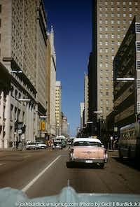 Downtown Dallas in 1961