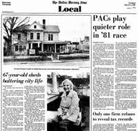 The story of 1015 Browder and the woman who lived there from 1938-1981 (See below)