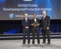 Pulak received the EPA's Patrick H. Hurd Sustainability Award in 2012 for his home-based arsenic water filter.Photo submitted by THABIT PULAK