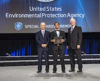 Pulak received the EPA's Patrick H. Hurd Sustainability Award in 2012 for his home-based arsenic water filter.(Photo submitted by THABIT PULAK)