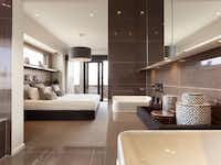 MainVue's houses use styles that are now common in luxury hotels.