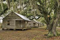 Intact slave cabins in the original location at the Evergreen Plantation.(Paul Ross - Photos by Paul Ross)