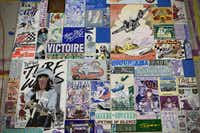 "Faile, No Going Back (detail), 2013. Courtesy of the artist and Dallas Contemporary.  ""FAILE"" is being assembled by Booklyn, N.Y.-based artists Patrick McNeil and Patrick Miller, whose multimedia installations, large-scale paintings and sculptures have helped change the perception of the Street Art genre."