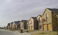 Tract houses were going up in a Fairview subdivision in 2005. Collin County grew more than 59 percent between 2000 and 2010, census data shows.