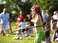 LifePoint Church in Plano offers a free community event that includes an Easter egg hunt, a Hula Hoop contest, bounce houses, a 45-animal petting zoo and an obstacle course.