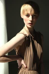 Lanvin rope-strap dress, $3,995, at Stanley Korshak