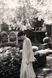 Chloé layered jersey dress, $1,995, Stanley Korshak