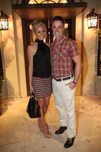Kellie Foster and Tyler Boethin