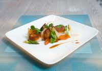 The pan-roasted diver sea scallops at Driftwood restaurant in Oak Cliff, for the June/July 2012 issue of FD Luxe. (George Fiala/Special Contributor )
