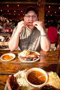 """Daniel Vaughn, blogger and the first barbecue editor at Texas Monthly, traveled 10,343 miles and made 186 stops to write """"Prophets of Smoked Meat."""""""