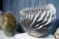 Hand-sculpted vase by Sylvie Pidancet-Bouquet, $2,600, sylvie-pidancet.odexpo.com