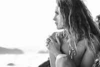 Model Erin Wasson photographed by Dan Martensen.