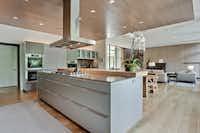 The kitchen of the home at 4626 Watauga Road, Dallas, Texas.