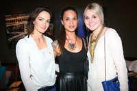 (L to R) Chandra North-Blaylock, Jennifer Dunn, and Brittany Winter at Fashion's Night Out at Highland Park Village with FD Luxe on Thursday, September 6, 2012.  Photography by Mei-Chun Jau for FD Luxe.(Mei-Chun Jau)