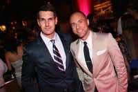 Jonathan Betz and Jason Sheeler at Fashion's Night Out at Highland Park Village with FD Luxe on Thursday, September 6, 2012.  Photography by Mei-Chun Jau for FD Luxe.(Mei-Chun Jau)