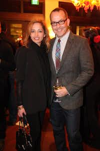 Robbin Raskin Solis and Gerald Frankowski at the 2011 Kim Dawson Video Festival and Model Search Reveal after-party on Nov. 2, 2011.