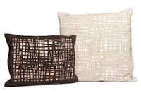 Kenzo Maison laser-inlay bamboo pillows, $550 small, $759 large, Fendi Casa, 214-760-9111, fendi.com