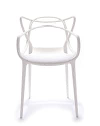 Masters Chair in polypropylene, by Philippe Starck for Kartell, $266, Nest, 214-373-4444, nestdallas.com