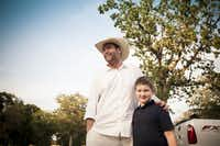 CHEF GRADY SPEARS with son Gage
