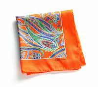paisley pocket squares, $95 each, Ralph Lauren