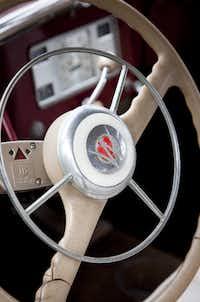 Jeep Grand Wagoneer steering wheel