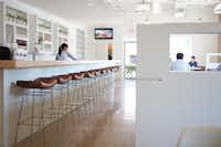 Inside the Rosemont restaurant.