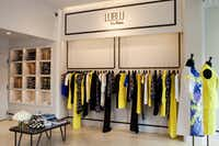 Clothes in the Lublu line retail for $250 to $1,500.