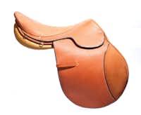 """Hermès """"Steinkraus"""" hunter-jumper saddle, $6,350, Dover Saddlery"""