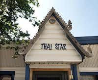 Thai Star restaurant on 3800 East Amarillo Boulevard in Amarillo.  Photographed  on May 3, 2012.  (Nan Coulter)