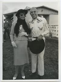 Coco Chanel received the Neiman Marcus Award for Distinguished Service in the Field of Fashion in 1957. When Chanel visited Texas, Stanley Marcus hosted a Western party and bovine fashion show in her honor.