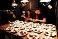 Underground chef David Anthony Temple plates up