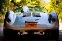 Eat his dust: Wilson's Porsche 550 Spyder