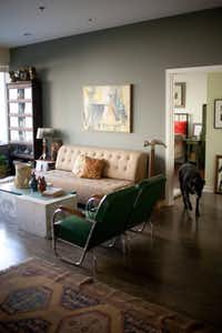 Baker's downtown Dallas apartment
