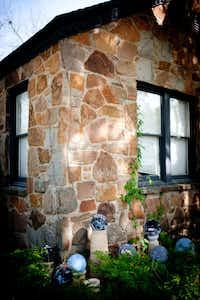 Baker's Oak Cliff stone cottage